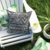 Black & White Totem Outdoor Cushion Bungalow Living
