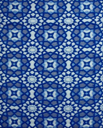 Bungalow Living Outdoor Rug Blue Mosaic Outdoor Rug