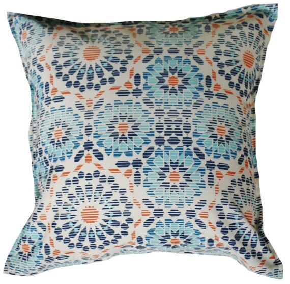 Riad Tile Indoor Outdoor Cushion