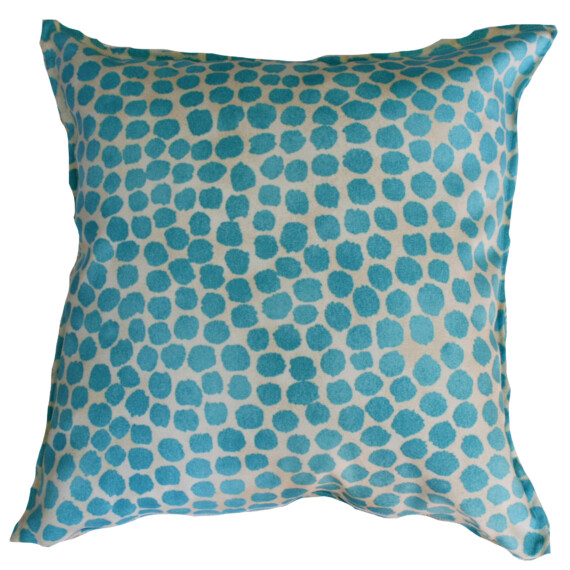 Aqua Spot Indoor Outdoor Cushion Cover Bungalow Living