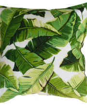 Jungle Leaf Indoor Outdoor Cushion Bungalow Living