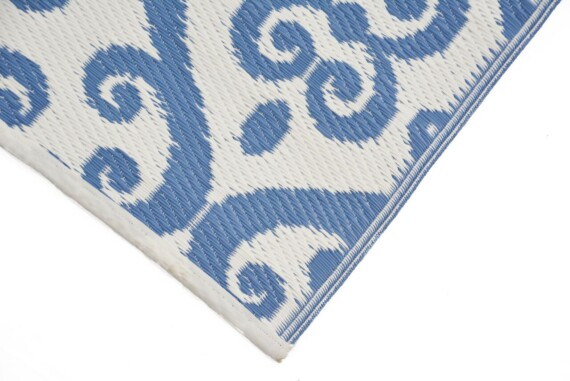 OMCHT2036WHALU_2_Florence Blue Outdoor Rug