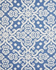 Bungalow Living Florence Blue Outdoor Rug