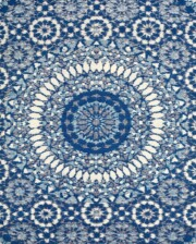 Bungalow Living Blue Solstice Outdoor Rug
