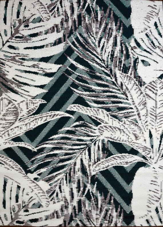 OMCHT2786GRNWH120170-f tropical leaves