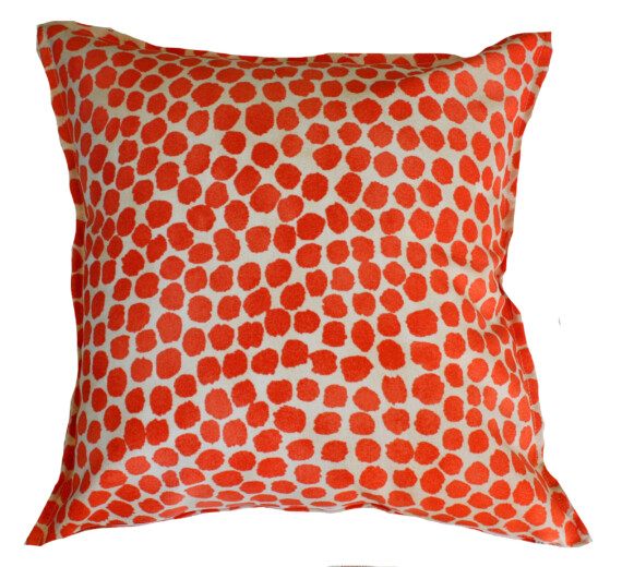 Terracotta Spot Indoor Outdoor Cushion Cover Bungalow Living
