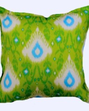 Green Henna Outdoor Indoor Cushion Bungalow Living