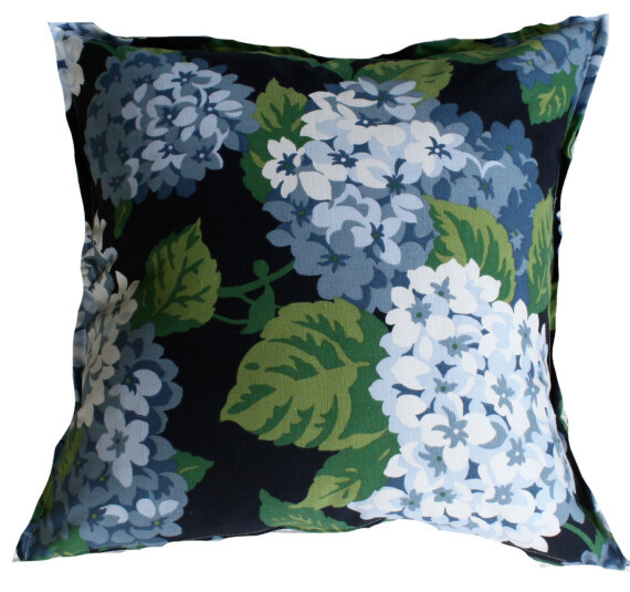 Hydrangea Blue 42 CM Indoor Cushion Cover Bungalow Living