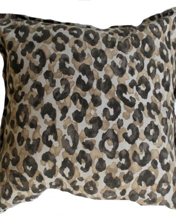 Leopard Natural Indoor Bungalow Living Cushion