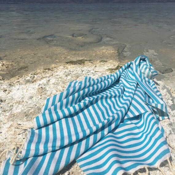 Aqua Turkish Towel