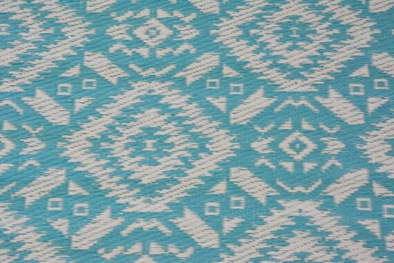 Aqua Bohemian Outdoor Mat 5