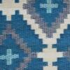 Blue & Grey Aztec Outdoor Mat 5