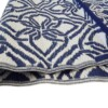 Blue & White Gypsy Outdoor Mat 2
