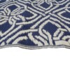Blue & White Gypsy Outdoor Mat 3