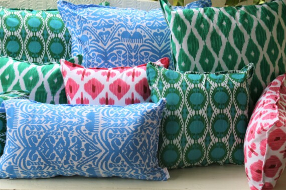 Bungalow Living Hand Printed Cushions