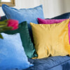 Bungalow Living Velvet Cushions
