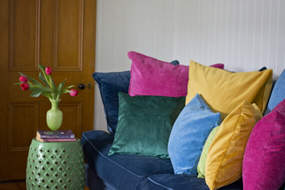 Bungalow Living Velvet Cushions 2019 Pic 7