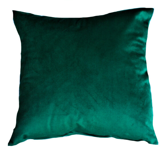 Emerald Forrest Velvet Indoor Cushion