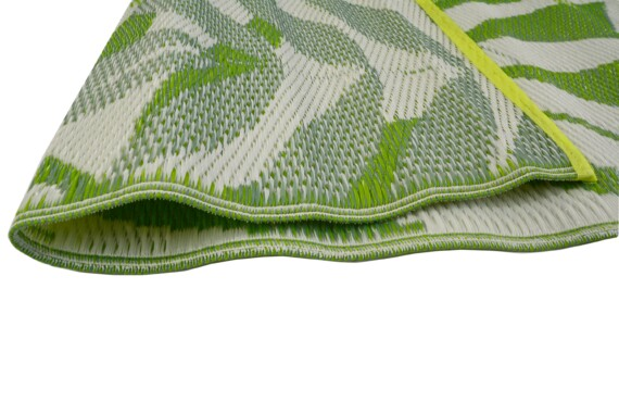 Green Leaves Outdoor Mat 1