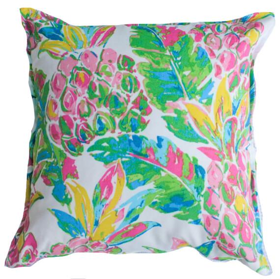 Pineapple Palm Beach Outdoor Cushion