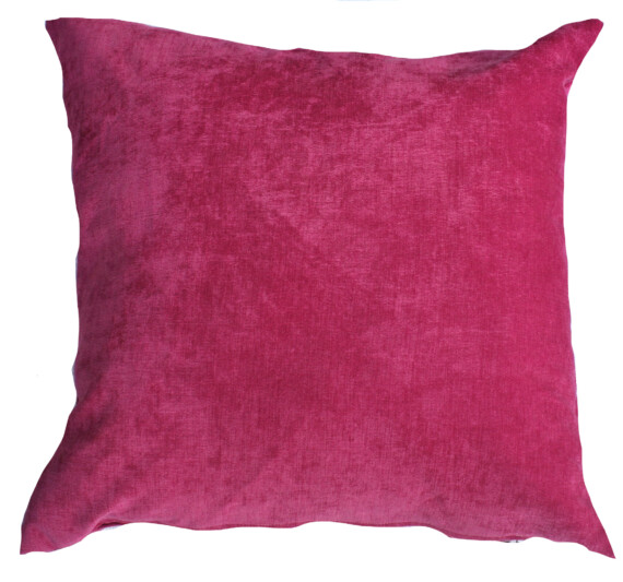 Pink Velvet Indoor Cushion