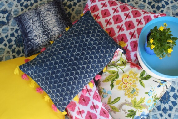 Bungalow Living Colourful Indoor & Outdoor Cushions