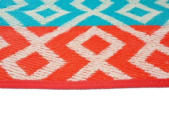 Summer Geo Outdoor Mat 4