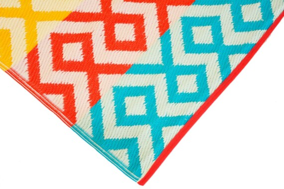 Summer Geo Outdoor Mat 5