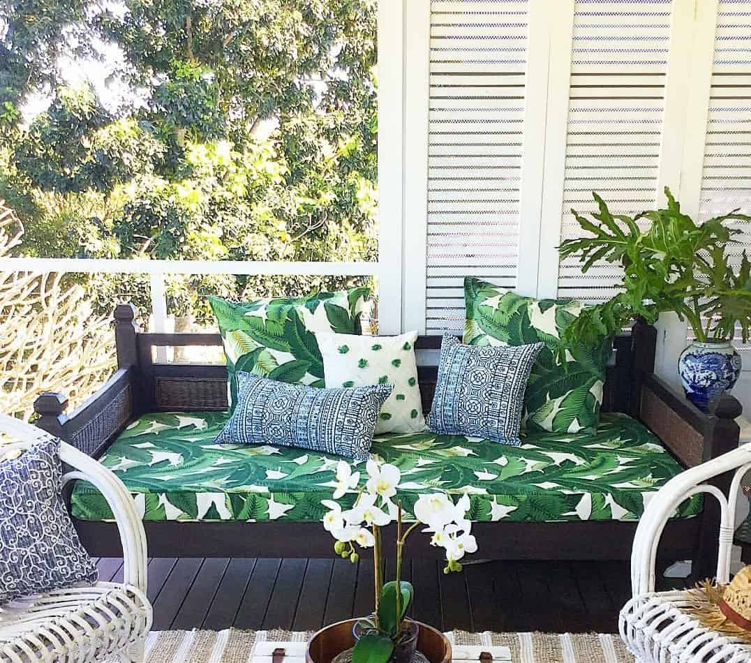 Outdoor Daybed Custom Cover Bungalow
