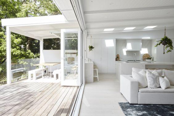 Creating Indoor Outdoor Flow in your home - Image from 3 Birds Renovations