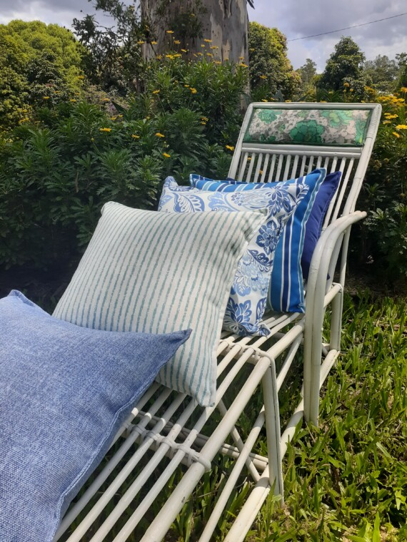 Blue And White Cushions 2020
