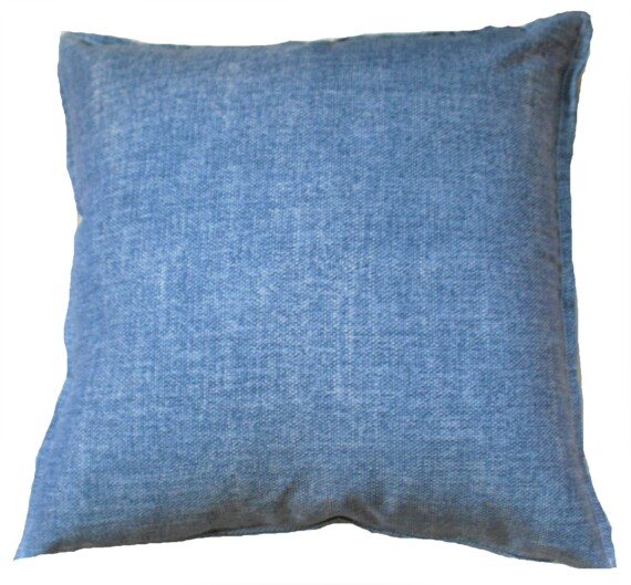 Faded Denim Blue Outdoor Cushion Bungalow Living