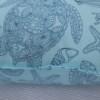 Aqua & Blue Turtle Bungalow Living Outdoor Cushions Australia 2