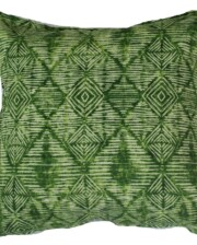 Green Tribal Outdoor Indoor Cushion Bungalow Living Australia