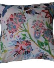 Navy Suzanni Flora Outdoor Cushion 42 CM Bungalow Living Australia