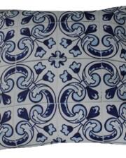 Lisboa Tile 60 CM Square Bungalow Living Outdoor Cushion Australia 1