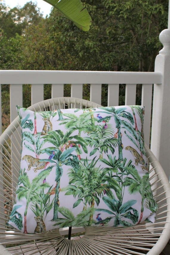 Jungle Days Outdoor Cushion Bungalow Living 60 CM Square Australia