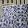 Lisboa Tile 60 CM Square Bungalow Living Outdoor Cushion Australia 1