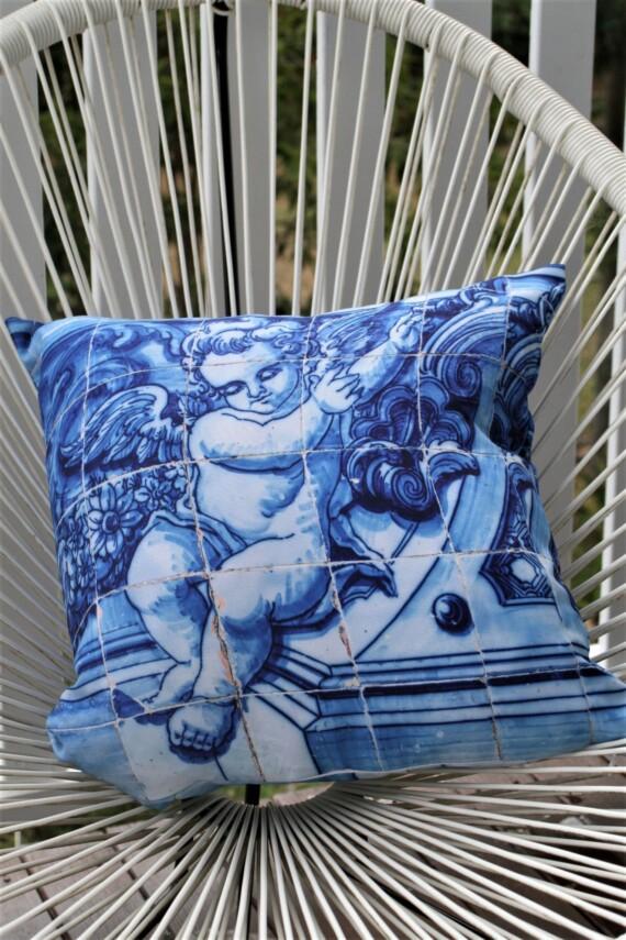 Lisboa Tile Angel 42 CM Square Bungalow Living Australia 1