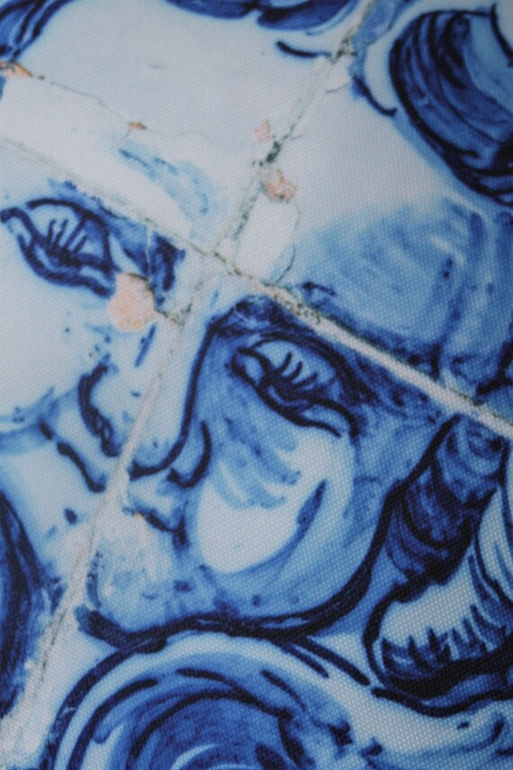 Lisboa Tile Angel Face Outdoor Cushion Bungalow Living Australia 1