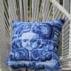 Lisboa Tile Angel Face Outdoor Cushion Bungalow Living Australia 3