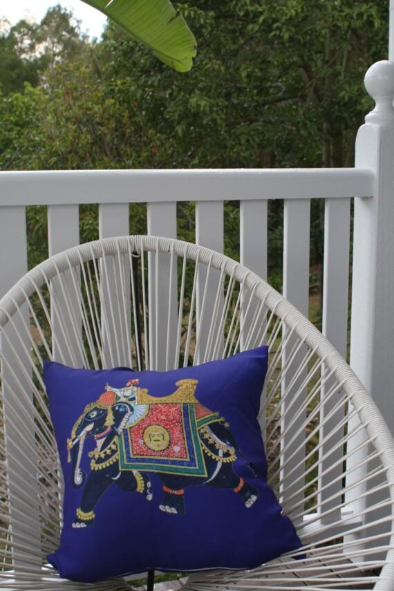 Royal Raj Outdoor Cushion 42 CM Bungalow Living Australia 2