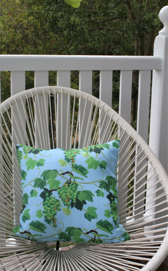 Vineyard 42 CM Square Outdoor Cushion Bungalow Living Australia 1