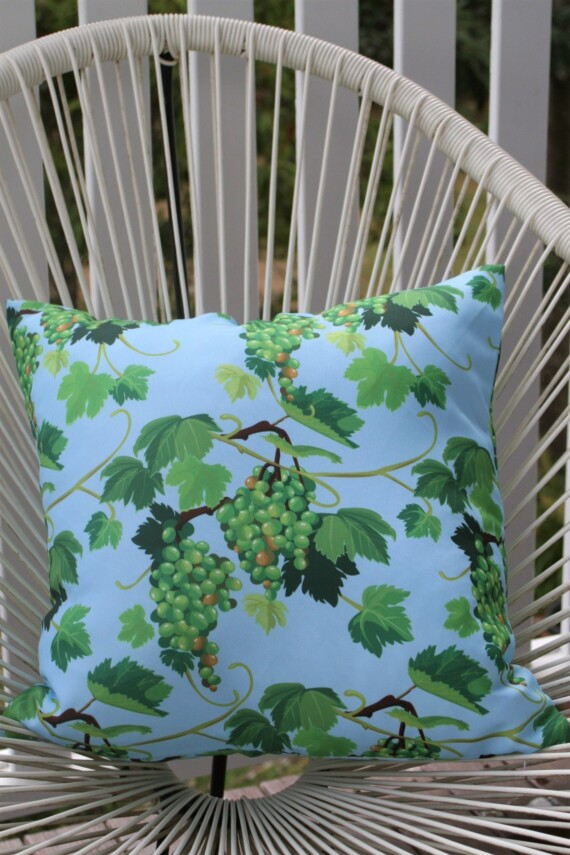 Vineyard 42 CM Square Outdoor Cushion Bungalow Living Australia